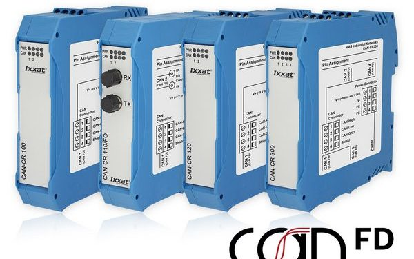 Новая серия репитеров Ixxat® для систем CAN FD и CAN