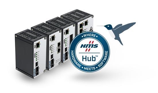 Реализуйте полный потенциал промышленного интернета вещей через подключение к шлюзу Anybus Edge с использованием HMS Hub™