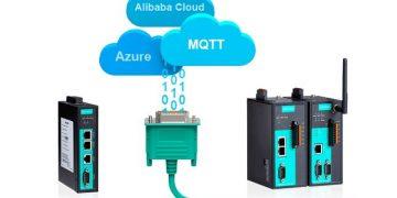 Новые решения MOXA с NPort и MGate для интеграции с Облаком