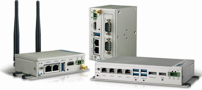 Модульные встраиваемые компьютеры серии UNO-1000/2000