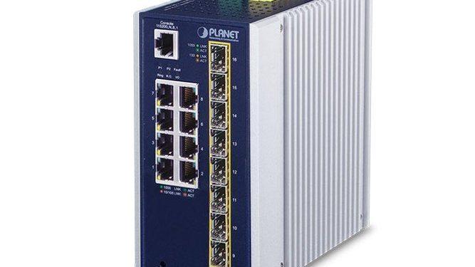 Промышленные коммутаторы IGS-6325-8T8S и IGS-6325-8T8S4X от компании Planet