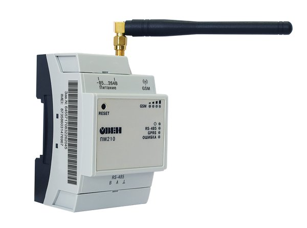 В продаже новая модификация сетевого шлюза ОВЕН ПМ210