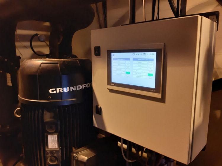 Автоматизация насосной станции котельной на базе оборудования ОВЕН