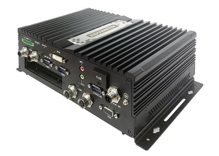Новый безвентиляторный встраиваемый компьютер для транспорта от AdvantiX серии ER-MTR