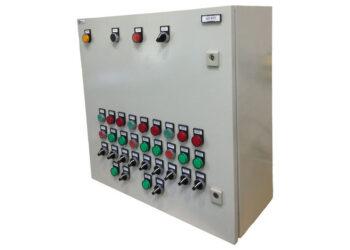 Шкаф управления индивидуального теплового пункта