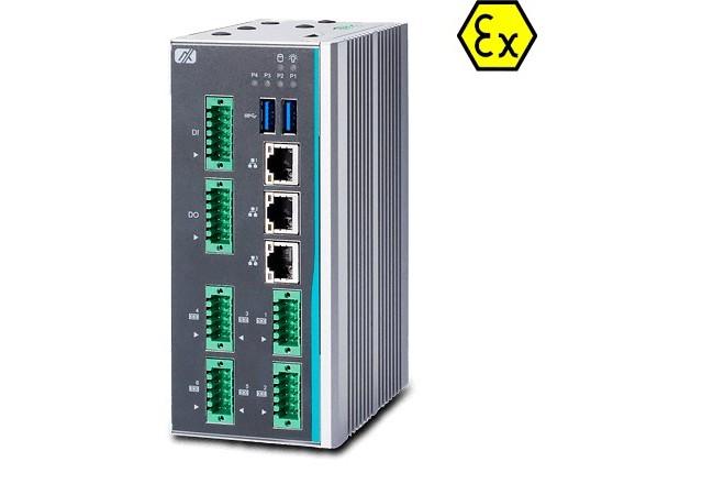 Взрывобезопасный встраиваемый компьютер ICO300-83M с сертификатом ATEX/C1D2