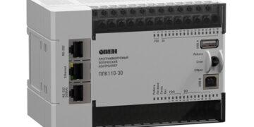 ОВЕН ПЛК110[М02] – линейка программируемых моноблочных контроллеров с дискретными входами/выходами на борту для автоматизации средних систем