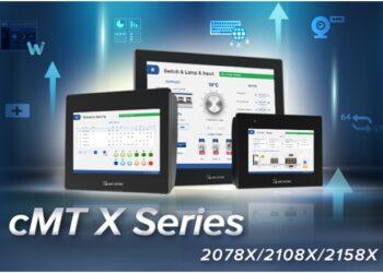 Weintek выпускает три новых панели оператора серии cMT X: cMT2078X, cMT2108X и cMT2158X