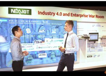 IPC2U в гостях у NexAIoT: реальный завод по принципам Industry 4.0