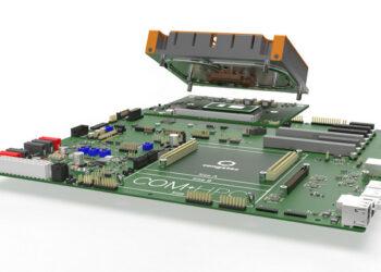 Стартовый набор компании congatec для модуля COM-HPC Client с процессорами Intel Core 11-го поколения