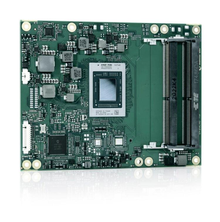 Высокопроизводительный модуль Kontron COM Express® COMe-bV26 на базе процессора AMD Ryzen™ Embedded V2000 для систем IoT Edge нового поколения