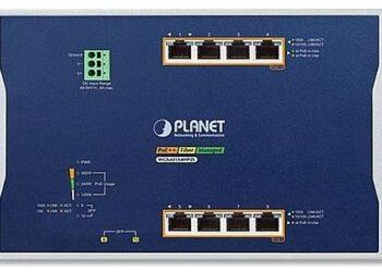 Промышленный коммутатор Planet WGS-4215-8HP2S с поддержкой 802.3bt PoE