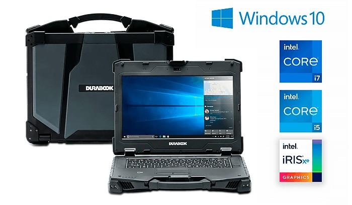 Durabook усовершенствовал полностью защищенный ноутбук Z14I